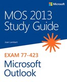 MOS 2013 Study Guide for Microsoft Outlook (eBook)