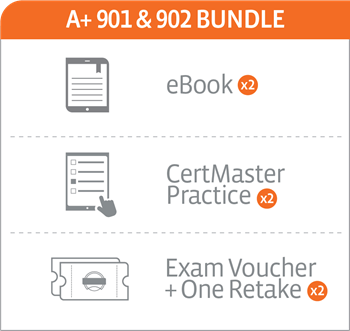 CompTIA A+ 901/902 Bundle