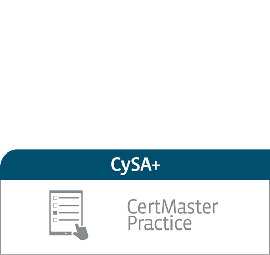 CompTIA CertMaster Practice for Cybersecurity Analyst (CSA+) (CS0-001) - Individual License