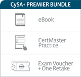 CompTIA Cybersecurity Analyst (CySA+) Premier Bundle