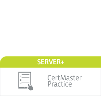 CompTIA CertMaster Practice for Server+ - Individual License