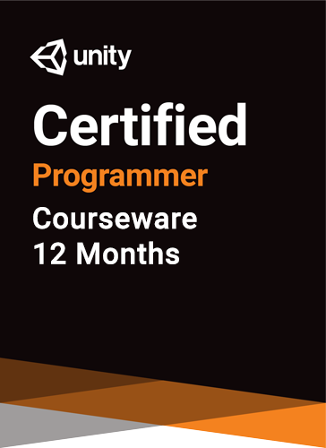 Unity Certified Programmer Courseware (12 months)