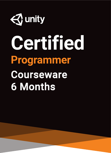 Unity Certified Programmer Courseware (6 months)