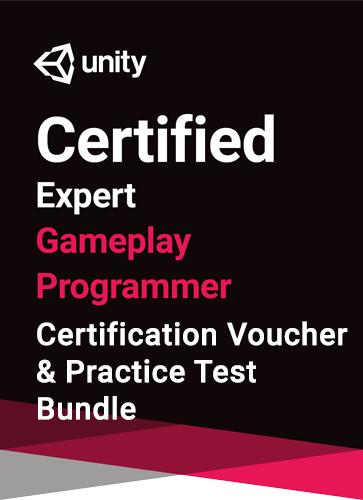 Unity Certified Expert Gameplay Programmer Bundle - certification and practice test bundle