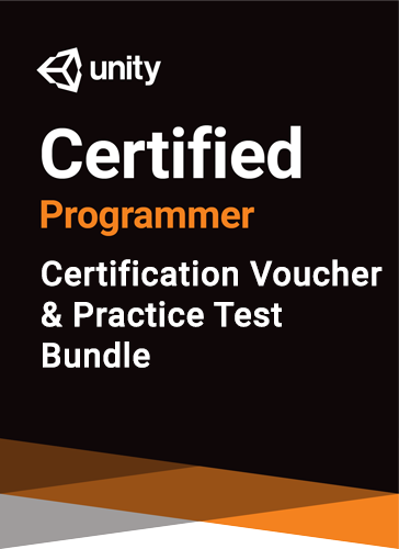 Unity Certified Programmer Bundle - certification and practice test bundle