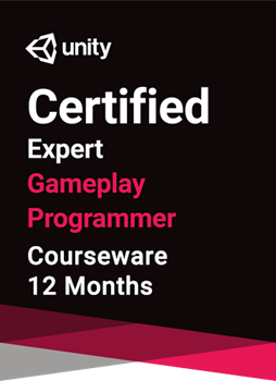 Unity Certified Expert Gameplay Programmer Courseware (12 months)