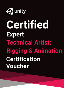 Unity Certified Expert Technical Artist - Rigging and Animation