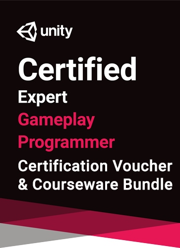 Unity Certified Expert Gameplay Programmer Bundle - certification and courseware (12 months) bundle