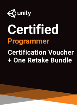 Unity Certified Programmer Bundle - certification plus one retake (if necessary)