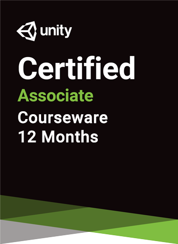 Unity Certified Associate Prep Courseware (12 months)
