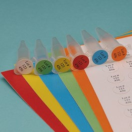 Tough-Spots Laser Printable Labels on Sheets