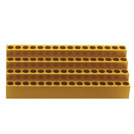Tiered Aluminum Block, 60×1.5 mL Tubes