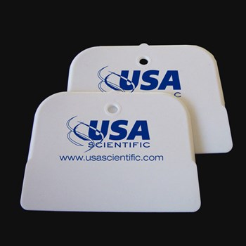 Sealing paddle with USA Scientific logo