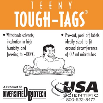 Teeny Tough Tags, Box