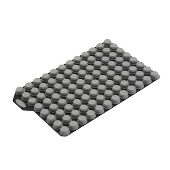 TPE Push Cap Capcluster, Gray