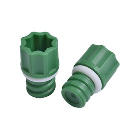 Micronic Screw Cap 96-Format, Standard Height, Green