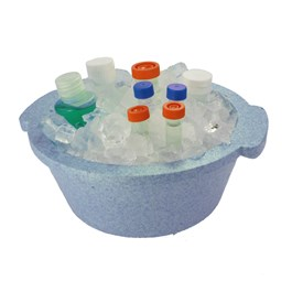 Two Liter Ice Bucket, Blue