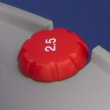 ErgoOne Volume Button,  2.5 µL, Red