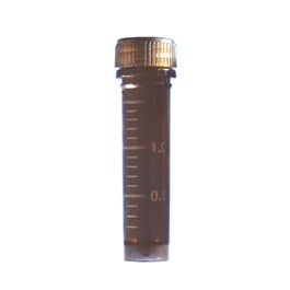 Skirted Conical Screw Cap Tubes, Amber