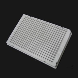 384-well TempPlate PCR plate, A24 notch, white