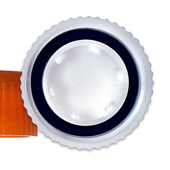 Cap for Screw Cap Microcentrifuge Tubes, Inside View