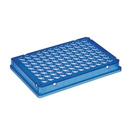 Eppendorf twin.tec PCR Plate 96, Skirted. Blue