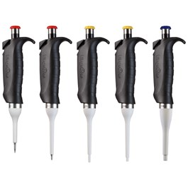 ErgoOne Single Channel Pipettes, Set of 5, 2.5, 10, 20, 200, 1000 µL