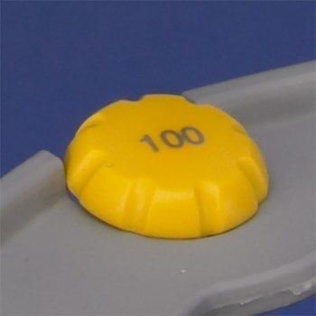 ErgoOne Volume Button,  100 µL, Yellow