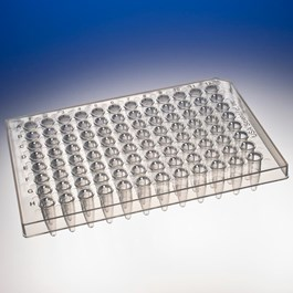 TempPlate Semi-Skirted 96-Well PCR Plate, Straight Skirt, 0.2 mL