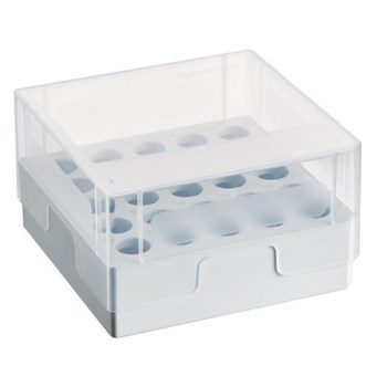 Storage Box 5×5 for Eppendorf 5.0 mL Screw Cap Tubes