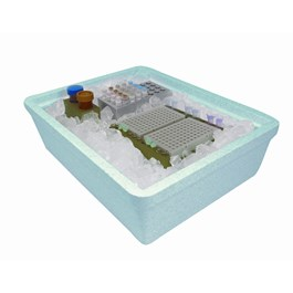 Nine Liter Ice Pan, Blue