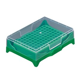 Stackable PCR Tube Rack, Green