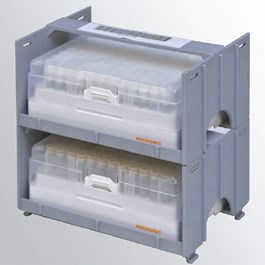 Modular Vertical Freezer Rack