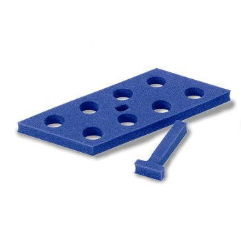 8-place Floating Foam Rack