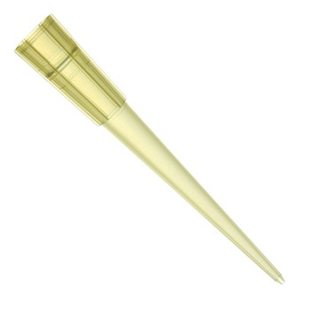 200 µL TipOne® Yellow Beveled Pipette Tip, Stacks