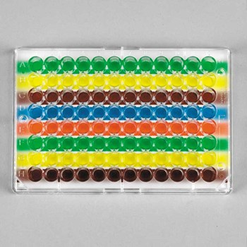 Multi-Color Well Orienter for 96-Well Plates, Horizontal