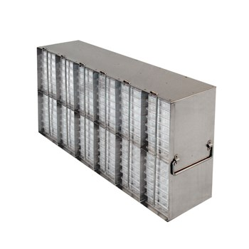 12-Section Upright Freezer Rack for Multiple Well Plates