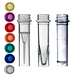 Skirted Conical Screw Cap Tube Group