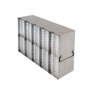 10-Section Upright Freezer Rack for Multiple Well Plates