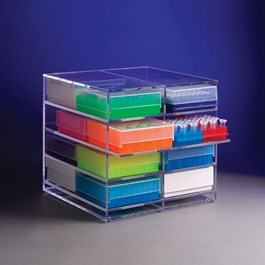 Acrylic 8-Place Holder for Boxes or Racks