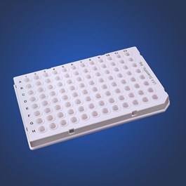 TempPlate Semi-Skirted 96-Well PCR Plate, Low Profile, White