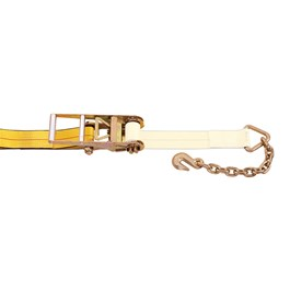 "3"" Chain Anchor Ratchet Strap Replacement Fixed End w/ Ratchet"