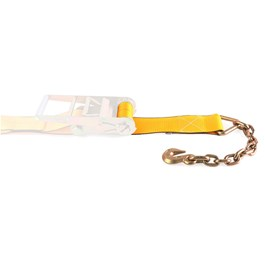 "4"" by 28' Chain Anchor Ratchet Strap Replacement Adjustable End"