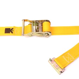"Kinedyne 2"" by 12' Spring Loaded Logistic Ratchet Strap"