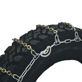 Grip Link 11 x 24.5 Single Square Link Cross Tire Chains