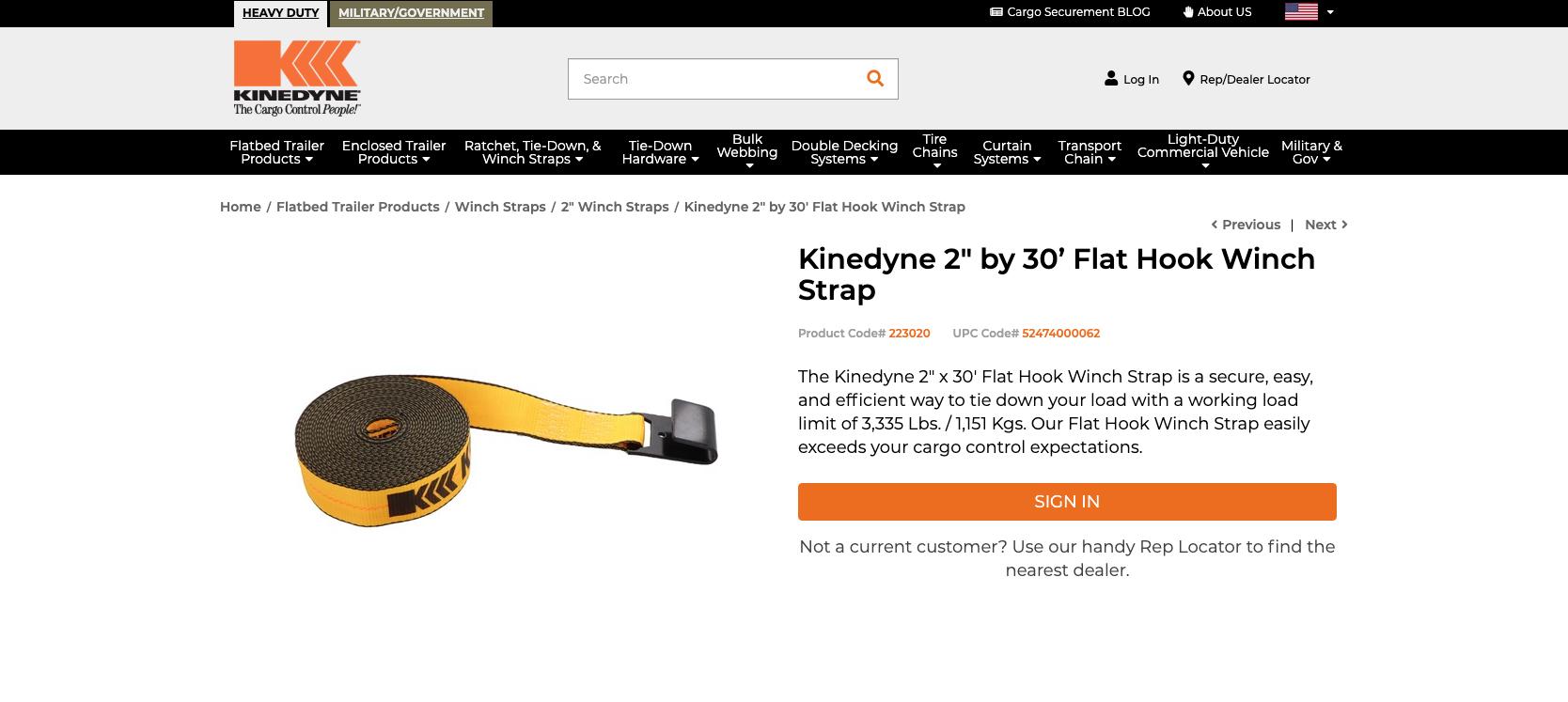KINEDYNE CORP 800 800 NEW NO BOX