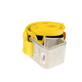 "4"" x 5' Sewn Loop End Roll-On/Roll-Off Container Strap"