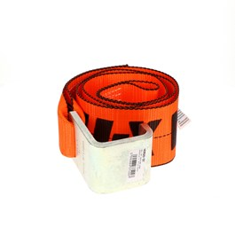 "X-Treme 4"" x 5' Sewn Loop End Roll-On/Roll-Off Container Strap"