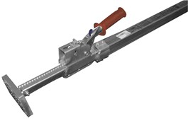 "85"" – 114"" Heavy-Duty One-Piece Galvanized Jack Bar"