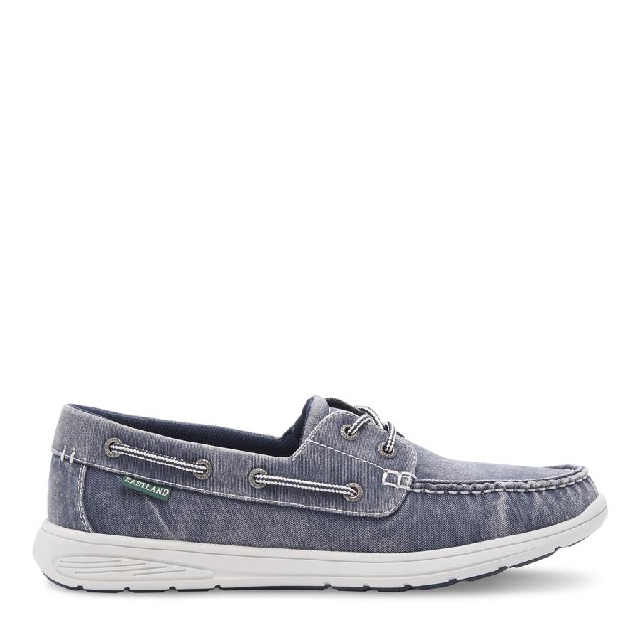 Men's Hayden Canvas Boat Shoe view 2 Navy Canvas